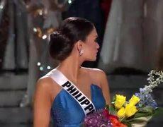 Miss Universe 2015 Winner Miss Philippines Pia Alonzo (Steve Harvey ERROR)