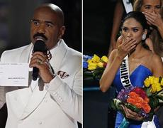 Internet explodes after mistake in Miss Universe 2015
