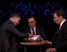 The Tonight Show - Egg Russian Roulette with Channing Tatum