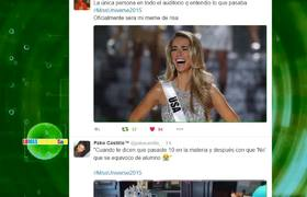 Insult Oscar de Leon to confuse with the host of Miss Universe 2015