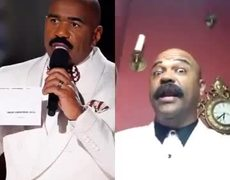 Oscar De Leon impersonator mimics the mistake of Steve Harvey