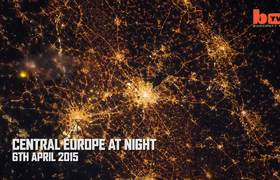 The year 2015 seen from space