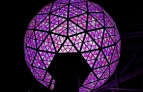 New Year's Eve ball ready