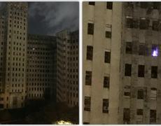 #OMG - Mysterious Christmas Tree Lights up an Abandoned Charity Hospital