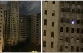 #OMG - Mysterious Christmas Tree Lights up an Abandoned Charity Hospital