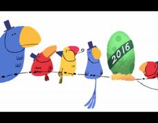 Google says goodbye the Year with this Google Doodle
