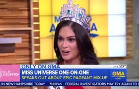 #GMA - Porque no comparto mi Corona con Miss Colombia: Ganadora de Miss Universo
