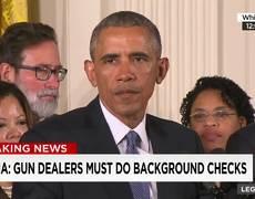 Obama anuncia las acciones del ejecutivo con respecto a la violencia con armas de fuego