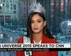 Miss Universe speaks of error in Miss Universe