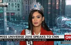 Miss Universo habla del error en Miss Universo