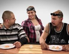 Cholos eating Sushi for first time