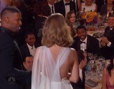 Jamie Foxx Parodies Steve Harvey Miss Universe Mistake (2016 Golden Globes)