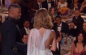 2016 Golden Globes -- Jamie Foxx hace parodia del Error de Steve Harvey que tuvo en Miss Universo