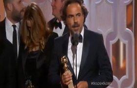 2016 Golden Globe Awards - The Revenant wins