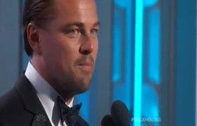 2016 Golden Globe Awards - Leonardo DiCaprio wins