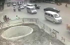 #CCTV - El peor conductor de motocicleta
