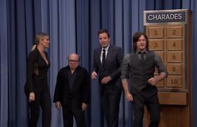 The Tonight Show: Charades with Danny DeVito, Khloé Kardashian and Norman Reedus
