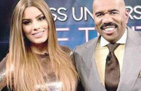 Steve Harvey talks about his encounter with Miss Colombia