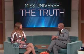 Steve Harvey Show - It was like a nightmare: Miss Colombia (Miss Universe: The Truth)