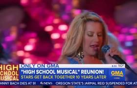 """#GoodMorningAmerica - Reunión de """"High School Musical"""""""