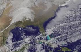 #NASA - Animation of January Blizzard 2016