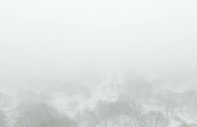 Winter Storm Jonas Drone in Connecticut