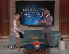 The Ellen Show: Steve Harvey and Miss Colombia Meet Again