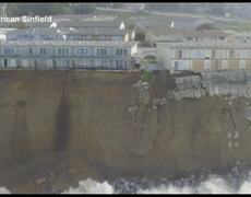 #VIDEO - California Residents Threatened As Cliffs Crumble Away