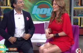 Andrea Legarreta y Raúl Araiza comentarios sobre el dólar
