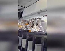 El regreso de avión de pasajeros que explotó al despegar