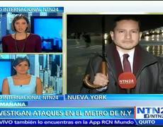 Alerta de criminalidad Ataques con arma blanca en el metro de NY