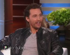 The Ellen Show Matthew McConaughey Talks About His Oscar