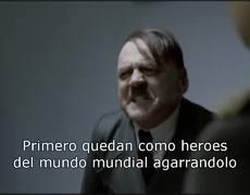 Hitler se entera que dejan libre a Moreira en España y ya esta en México