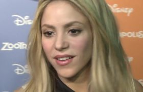 Shakira Interview in Zootopia Barcelona Premiere