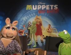 Muppets Most Wanted Interview Miss Piggy Kermit
