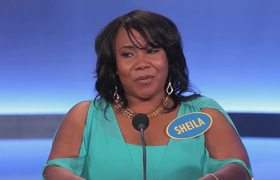 #FamilyFeud - Worst contestant EVER - Sheila the