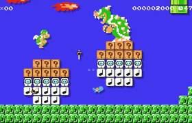 #Nintendo - Super Mario Maker: Bulbasaur, Charmander, & Squirtle