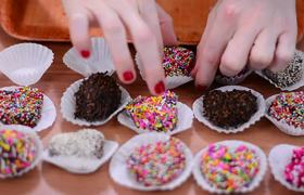 #SanValentin Trufas de Oreo y Nutella
