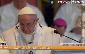 Homilía del Papa Francisco durante la Misa en la Basílica de Guadalupe