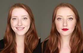 Women Learn How To Do Makeup For The 1st Time