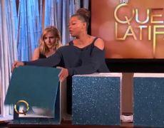 Latifah Show Kristen Bell Plays Whats That Frozen Edition