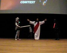 Jaspion vs Darth Vader vs .... Yisus