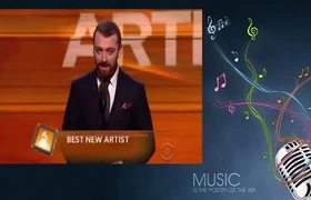Sam Smith #Grammy Awards 2016