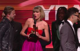 "Taylor Swift ""Out Of The Woods"" #Grammys Grammy Awards 2016"