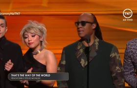 2016 #GRAMMY Awards - Pentatonix & Stevie Wonder