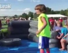 #VIRAL - Kid FAILs At Obstacle Course