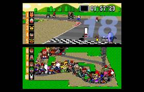 #CRAZY - Playing Super Mario Kart... with 101 players