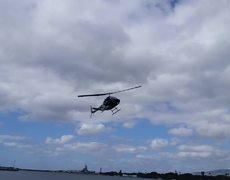 #VIRAL - Choque de helicóptero en Pearl Harbor (ORIGINAL)