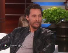 Ellen Show Matthew McConaughey Talks About His Oscar Win