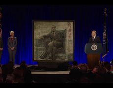House of Cards - Frank Underwood Presidential Portrait Unveiling (NETFLIX Series)
